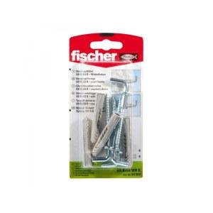 Kruvi tüübliga Fischer UX WHK; 10x60 mm; 2 tk