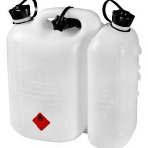 Paak kütuse hoidmiseks Hitachi 714822 valge (5 l) + Õlimahuti Hitachi (3 l)