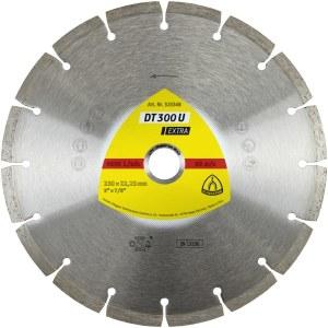 Teemantlõikeketas kuivlõikamiseks Klingspor DT 300 U Extra; 300x2,8x30,0 mm