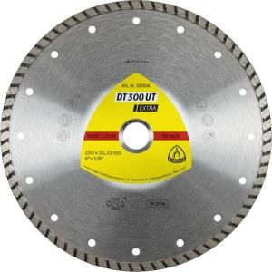 Teemantlõikeketas märglõikamiseks Klingspor DT 300 UT Extra; 230x2,5x22,23 mm