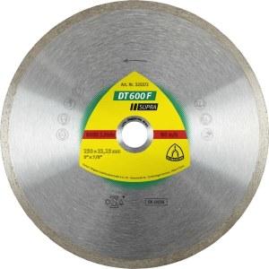 Teemantlõikeketas märglõikamiseks Klingspor DT 600 F Supra; 200x1,9x30,0 mm