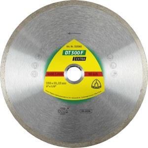 Teemantlõikeketas märglõikamiseks Klingspor DT 300 F Extra; 200x1,9x30,0 mm