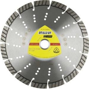 Teemantlõikeketas kuivlõikamiseks Klingspor DT 612 UT Supra; 125x2,4x22,23 mm