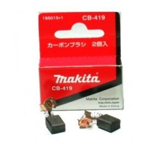 Süsinikharjad Makita CB-419