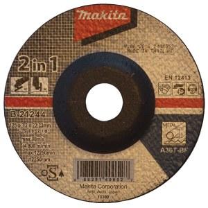 Abrasiiv lõikeketas Makita B-21244; 125x3,2 mm metallile