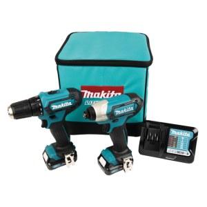 Tööriistakomplekt Makita (DF333D + TD110D); 12 V; 2x2,0 Ah aku