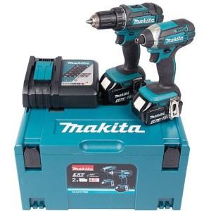 Tööriistakomplekt Makita DLX2127MJ (DDF482+DTD152); 18 V; 2x4,0 Ah aku