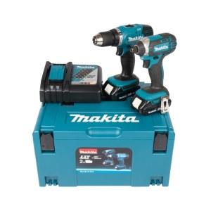 Tööriistakomplekt Makita DLX2141AJ (DDF453+DTD152); 18 V; 2x2,0 Ah aku
