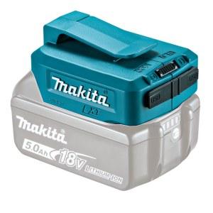 Aku adapter Makita 18V -> USB (x2) Telefoni akude laadimiseks