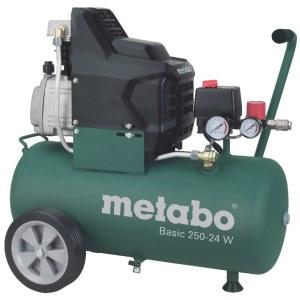 Õlimäärdega õhukompressor Metabo Basic 250-24 W