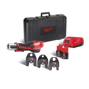 Toru pressimise tangid Milwaukee M12 HPT-202C TH-KIT; 12 V; 2x2,0 Ah aku