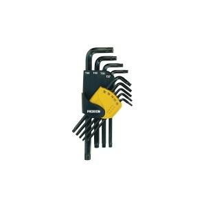 L-tüüpi kuuskant võtmete komplekt Proxxon Allen; TX8-50; 9 tk