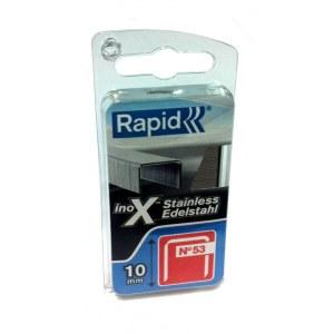 Klambrid Rapid; 11,4x10 mm; 1080 tk.; tüüp 53; roostevaba teras