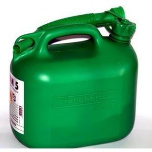 Paak kütuse hoidmiseks  roheline (5 l)