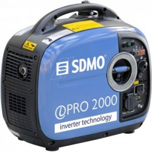 Generaator SDMO Inverter PRO 2000; 2kW; benzininis + õli