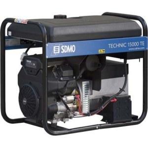 Vahelduvvoolu generaator SDMO Technic 15000 TE + Õli