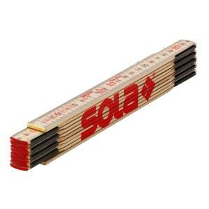 kokkuvolditav puust joonlaud Sola H 2/10; 2 m