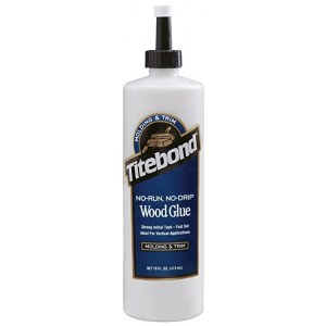 Puiduliim Titebond No-Run, No-Drip Wood Glue; 474 ml
