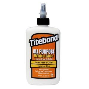 Universaalne liim Titebond All Purpose White; 237 ml