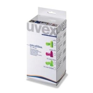 Kõrvatropid Uvex X-fit; REFILL One2Click; 37 dB; 300 tk
