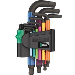 L-tüüpi kuuskant võtmete komplekt Wera 950/9 SPKS; 9 tk